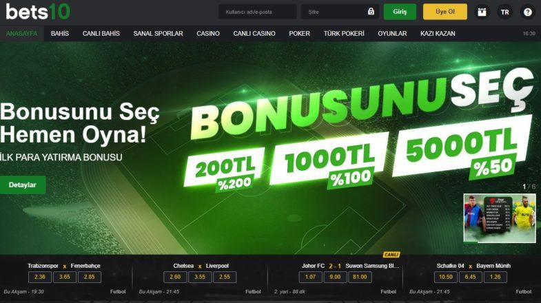 Bets10 Güncel Giriş Sayfası