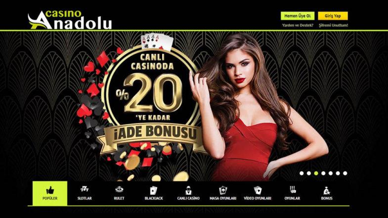 Anadolu Casino Giriş Sayfası