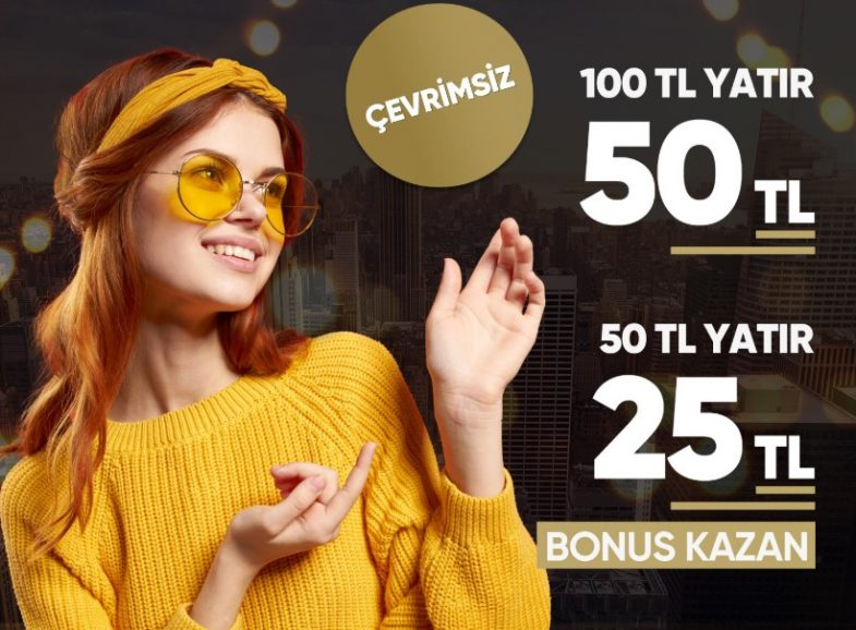 Betsend giriş bonusu ile 50 TL yatır 25 TL bonus kap