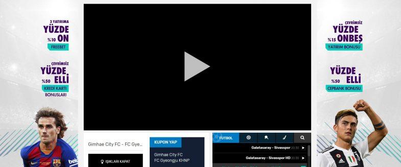 Betsilin TV giriş adresi ile maçları canlı izle