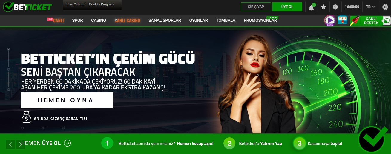 Betticket Giriş