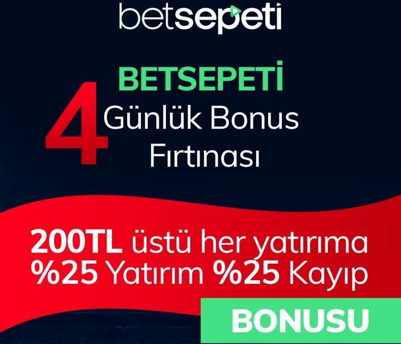 Betsepeti giriş bonusu ile 4 gün bonus al