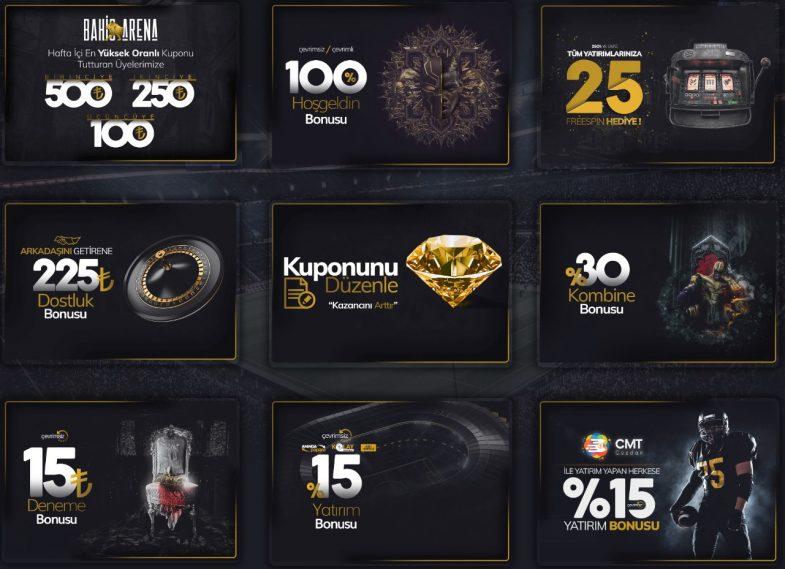Kingbetting giriş bonusları ve promosyonları