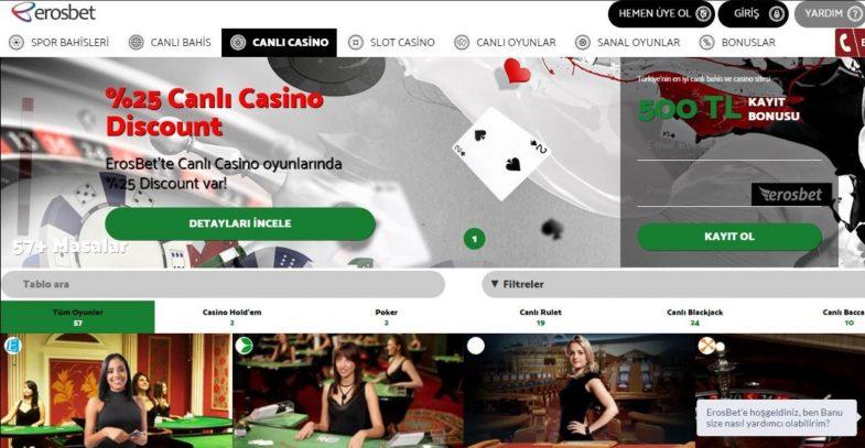 erosbet casino giriş nasıl yapılır?