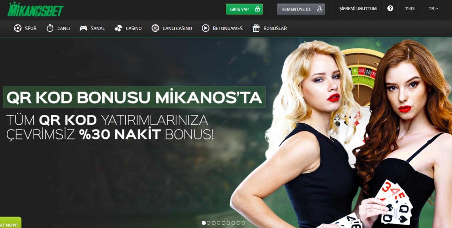 Mikanosbet giriş sayfası