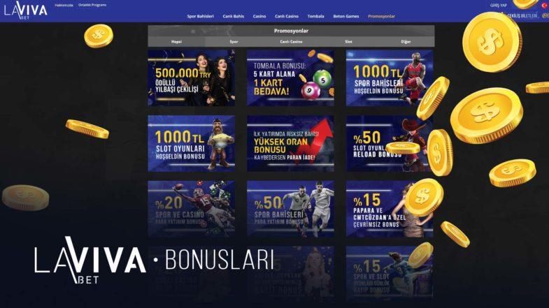 lavivabet bonusları ve promosyonları