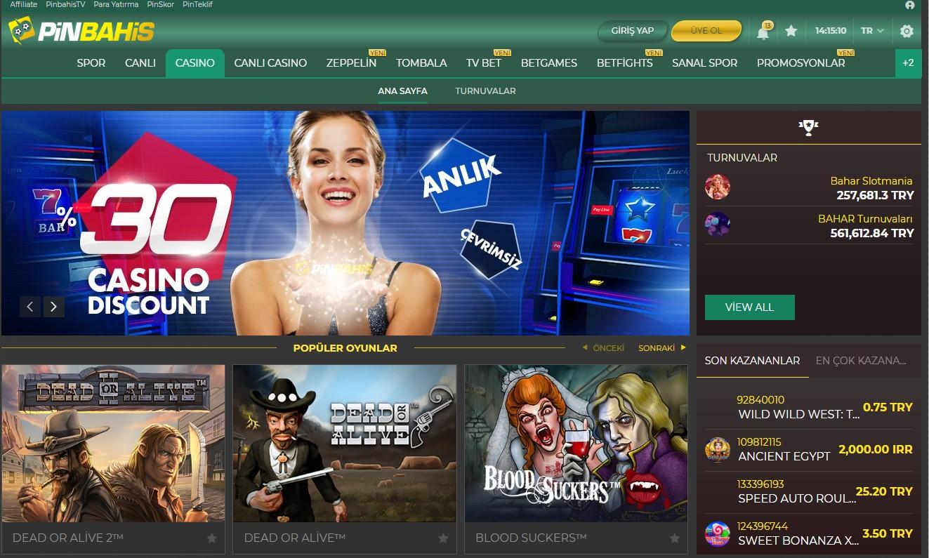 Pinbahis Casino