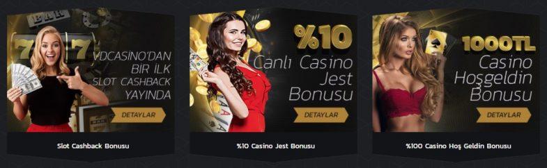 Vdcasino Bonusları